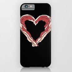 Baconlove (black background) Slim Case iPhone 6s