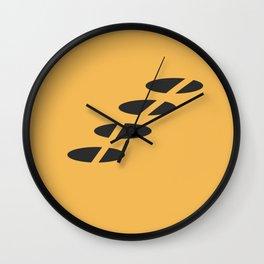 Simple Geometric Shapes 2 Wall Clock