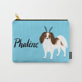 Phalène (Blue) Carry-All Pouch
