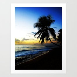 Sunset @ Rincon 2 Art Print