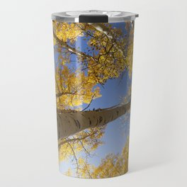 Aspen Colorado Looking Up Travel Mug