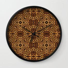 abstract animal print Wall Clock
