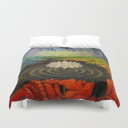 Earth-and-Sky Duvet Cover