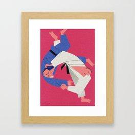 Judo Framed Art Print