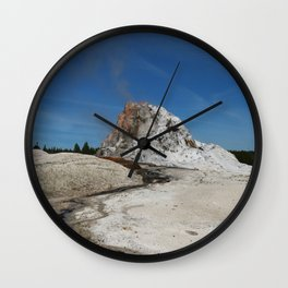 White Dome Wall Clock