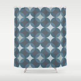 Blueprint Pattern N4 Shower Curtain