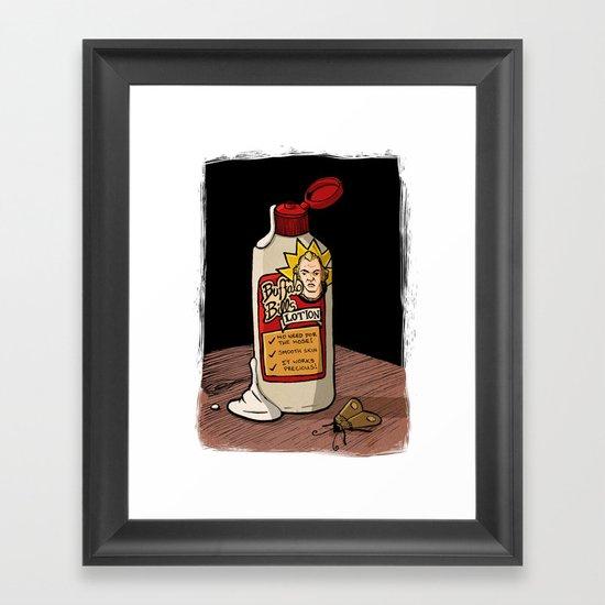 Lotion Framed Art Print
