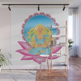 Yoga Gurl Wall Mural
