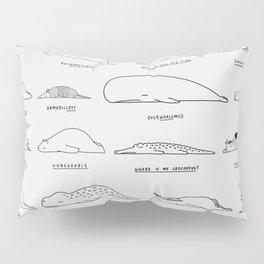 Moody Animals Pattern Pillow Sham