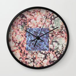 Inner Molecules Wall Clock
