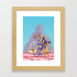 The Airtight Shoebox Framed Art Print
