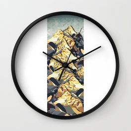 The Great, Great Night Mountain No. 6 Wall Clock