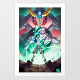 Gurren Lagann - This Drill will pierce the Heavens Art Print