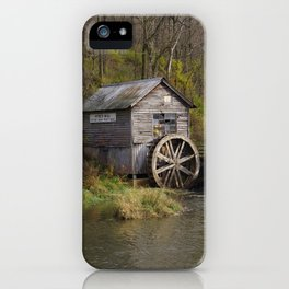 Rural Wisconsin - Hyde's Mill iPhone Case