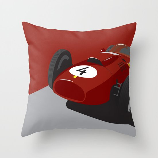 Fearless Count Throw Pillow