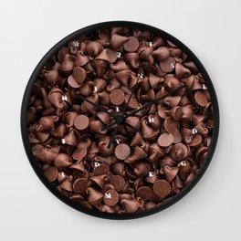 Chocolate Cone Wall Clock