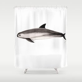 Vaquita Shower Curtain