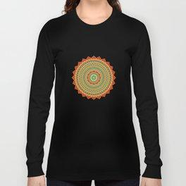Mandala of Happyness, Health and Wealth Long Sleeve T-shirt