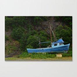 Stranded in Seldovia Canvas Print