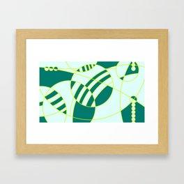 homenaje al gran W II Framed Art Print