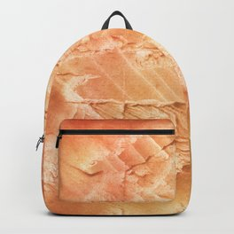 Sandy brown vague watercolor Backpack