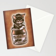 Kitten Loves Nutella Stationery Cards