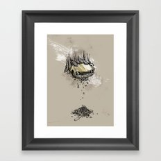 It's here daddy! Framed Art Print