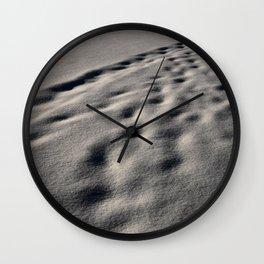 Snow Blindness Wall Clock
