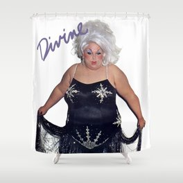 Divine - Love Reaction Shower Curtain