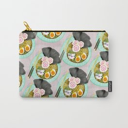 Ramen Cats Pattern Carry-All Pouch