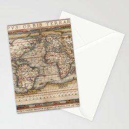 TYPVS ORBIS TERRARUM Stationery Cards
