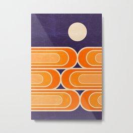 July Moonrise Metal Print