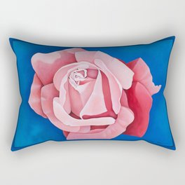 Perfume Delight - Pink Tea Rose Art Rectangular Pillow