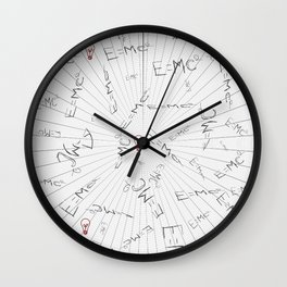 E = mc2 Wall Clock