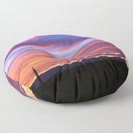 South Santa Fe Sunset Floor Pillow