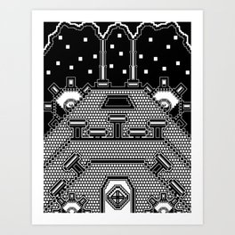 Mechanical Empire  Art Print