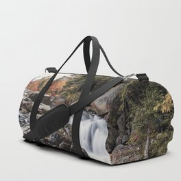 Waterfall at Rocky Gorge Duffle Bag