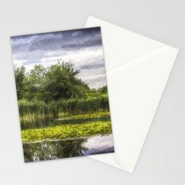 Lily Pond Art Stationery Cards