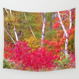 Autumn Decor Wall Tapestry