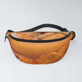 FLAMING JUNE - FREDERIC LEIGHTON (RESTORED) Fanny Pack
