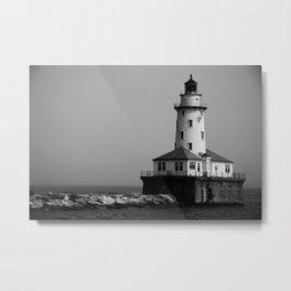 East Coast Lighthouse Metal Print