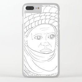 Hausa Clear iPhone Case