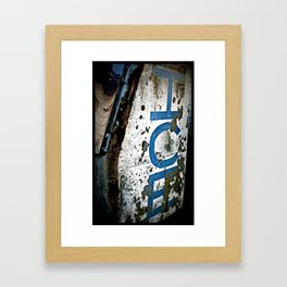 Get your Ice! Framed Art Print