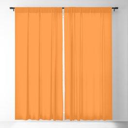 Orange Sherbet Blackout Curtain
