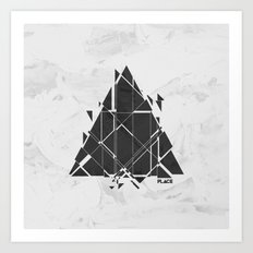PLACE Triangle V2 Art Print