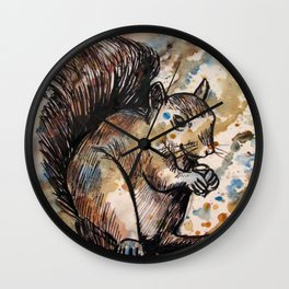 Nutty Wall Clock