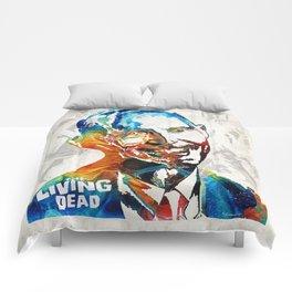 Zombie Art - The Living Dead - Halloween Fun Comforters