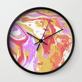 Marble texture 12 Wall Clock