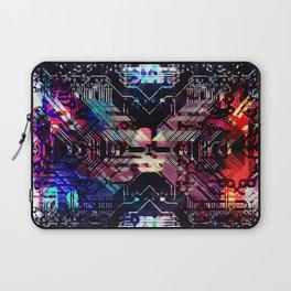 circuit board shadow Laptop Sleeve