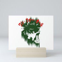 Izuku Scream Mini Art Print